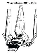 Awesome Shuttle In Star Wars Coloring Page