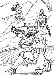 Awesome Star Wars Coloring Page