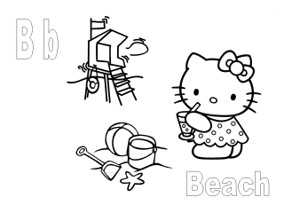 B Is For Beach