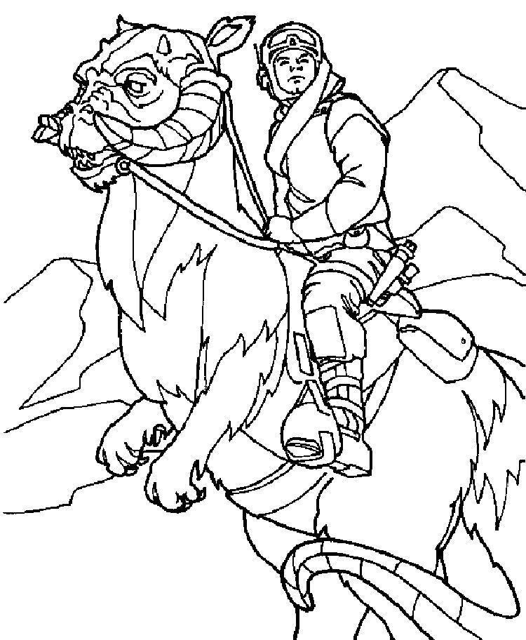Baby Yoda Empire Coloring Pages