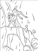 Bambi Is Climbing The Hill  from Bambi Coloring Page