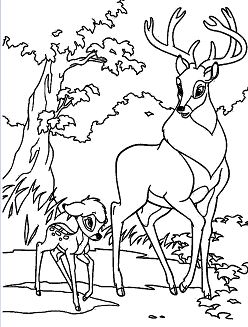 Bambi Uns Both With The Great Prince Of The Forest