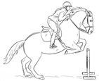 Barbie Pass Obstacles Coloring Page