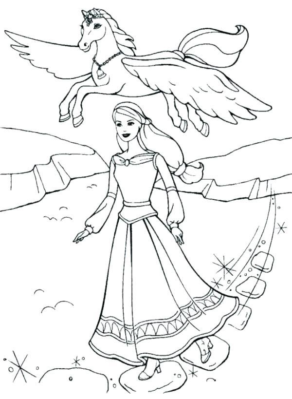 Barbie with Pegasus