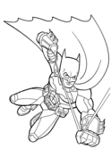 Batman from Batman Coloring Page