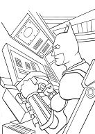 Batman 14 Coloring Page