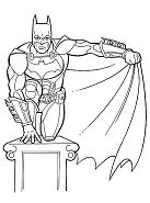 Batman 16 Coloring Page