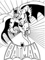 Batman 5 Coloring Page
