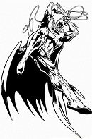 Batman 8 Coloring Page