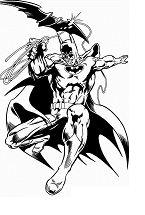 Batman 9 Coloring Page