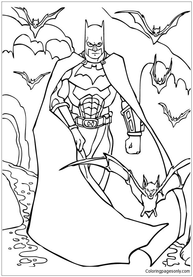 Batman Fargeleging For Barn Coloring Pages - Cartoons Coloring Pages - Free Printable  Coloring Pages Online