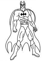 Batman New Coloring Page