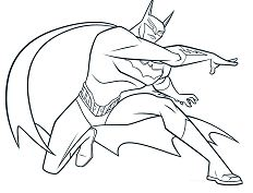 Batman New 1 Coloring Page