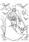 Batman with Bats from Batman