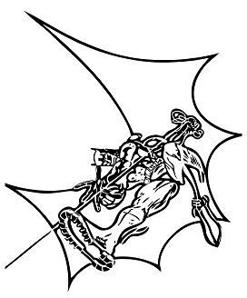 Batman With Wings Coloring Page