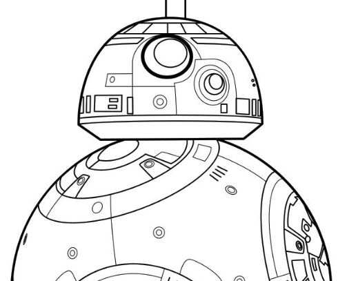 bb 8 - Bb 8 Coloring Page