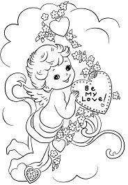 Be My Love Coloring Page