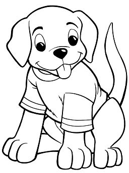 Puppy Coloring Pages - ColoringPagesOnly.com