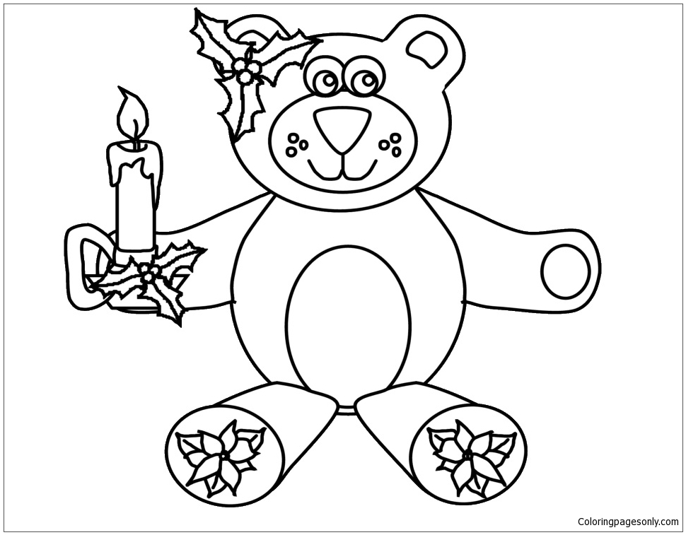 Bear Coloring Page