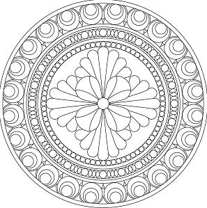 Beautiful Mandala Decoration