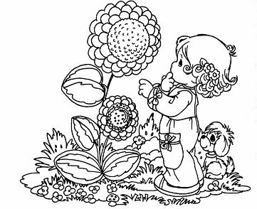 Spring Coloring Pages - ColoringPagesOnly.com