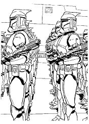 Beautiful Star Wars Coloring Page