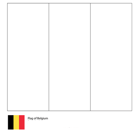 Flag of Belgium-World Cup 2018