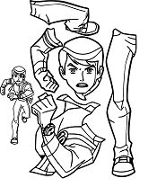 BenTen Alien Force Giant Part