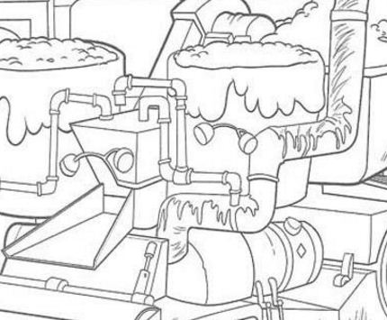 Bessie Coloring Page