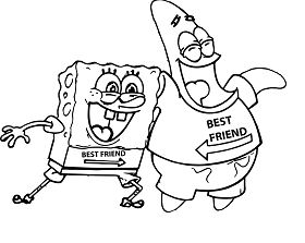 Best Friend Coloring Page