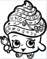 Best Of Shopkins Coloring Page