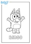 Bingo Bluey Character