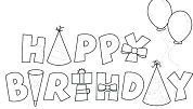 Birthday Cards - image 1 Coloring Page