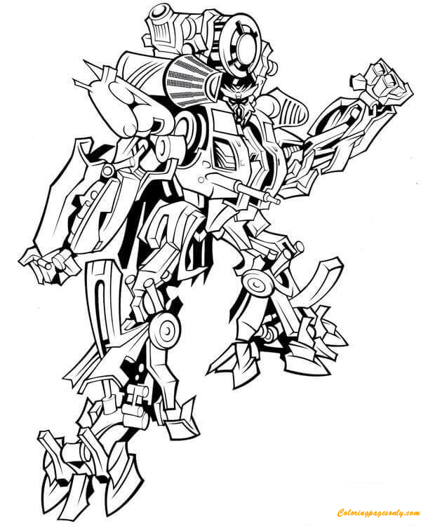 Transformers Megatron Coloring Pages Printable | 750x600