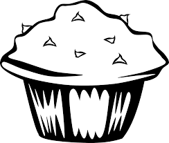 Blank Cake Birthday Coloring Page
