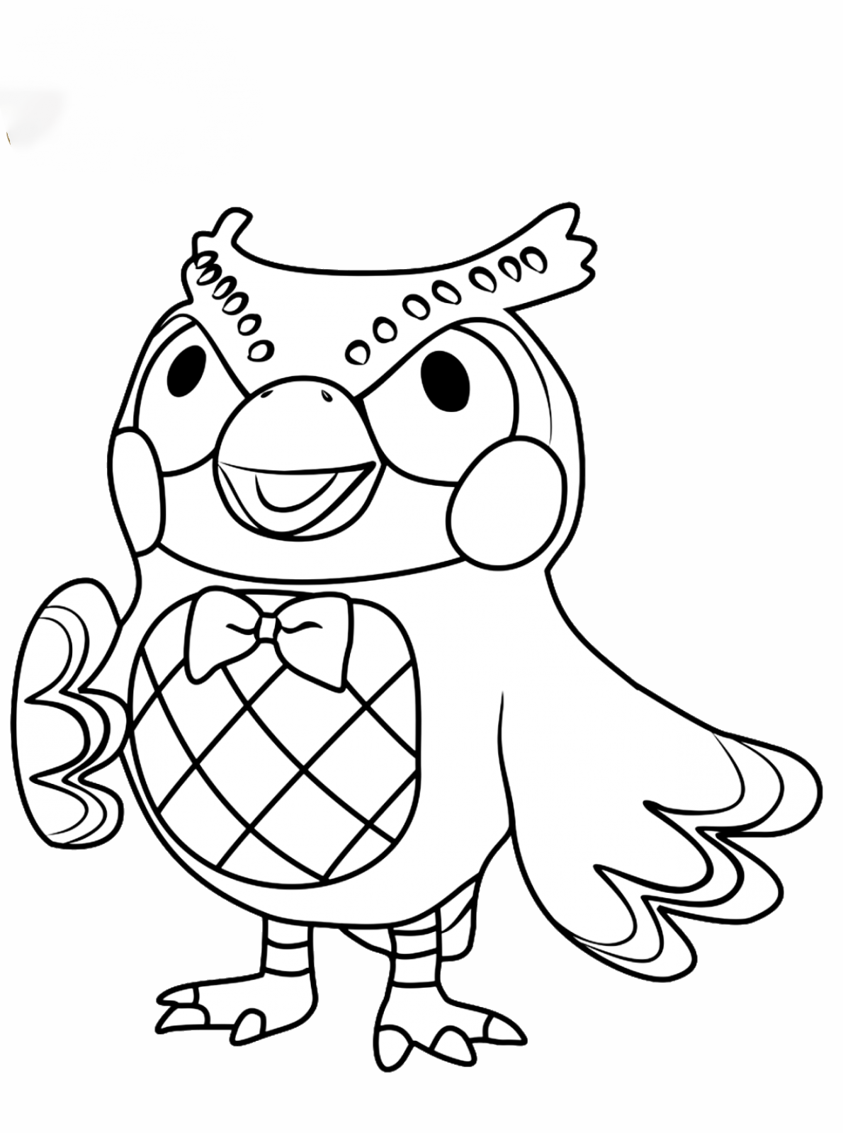 Blather Coloring Page