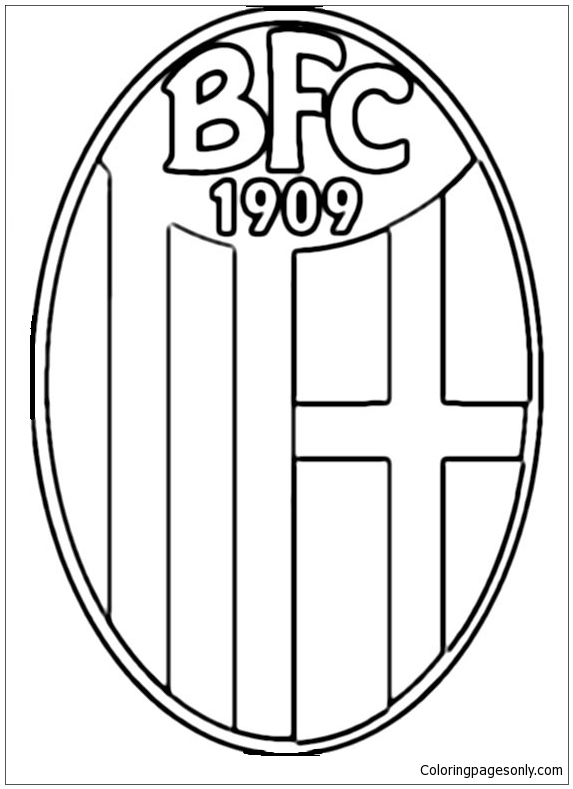 Bologna F C Coloring Pages Soccer Clubs Logos Coloring Pages Coloring Pages For Kids And Adults