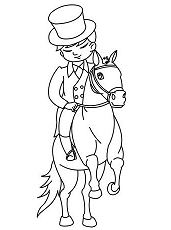 Boy Training A Horse