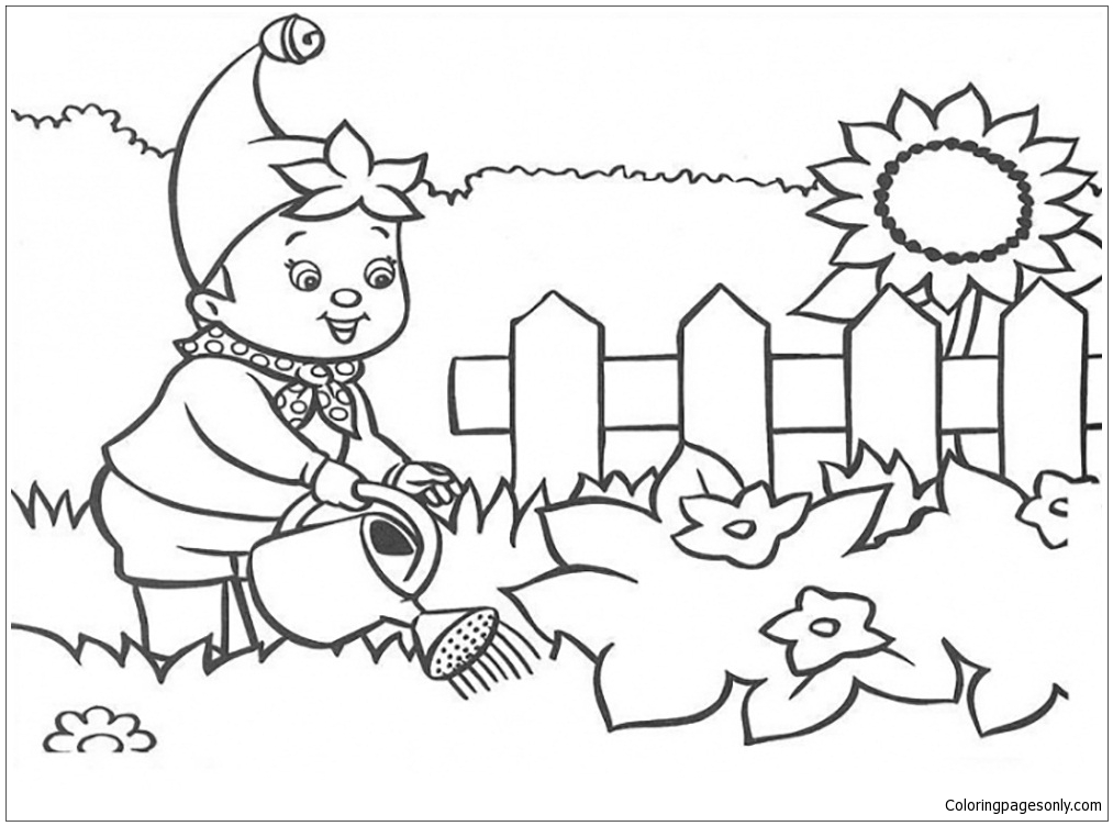 garden bugs coloring pages - photo#29