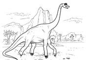 Brachiosaur Dinosaur