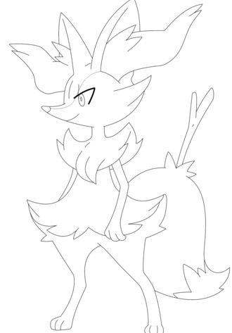 Braixen Pokemon