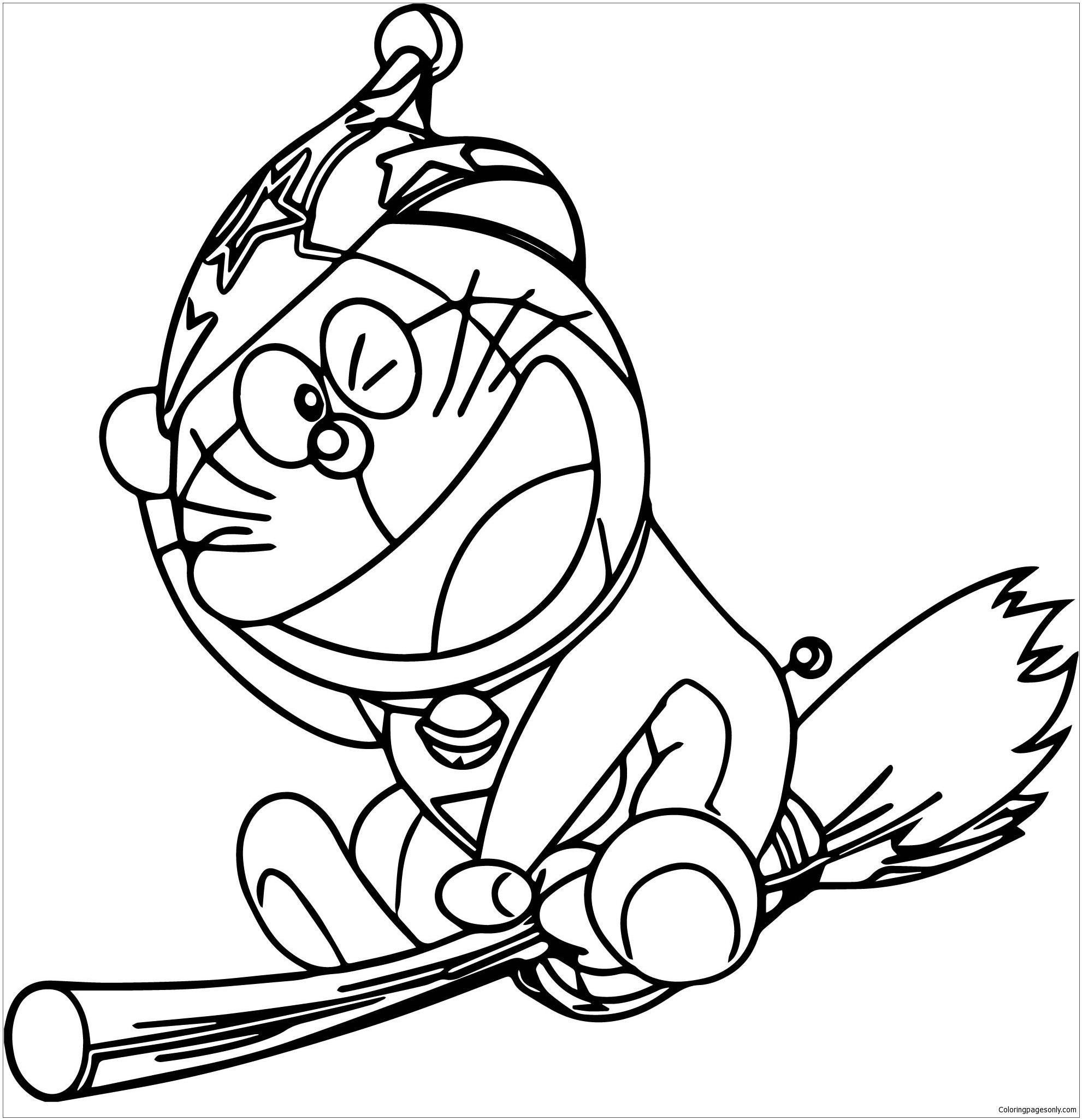 Bratz Doraemon Witch Coloring Pages Doraemon Coloring Pages Coloring Pages For Kids And Adults
