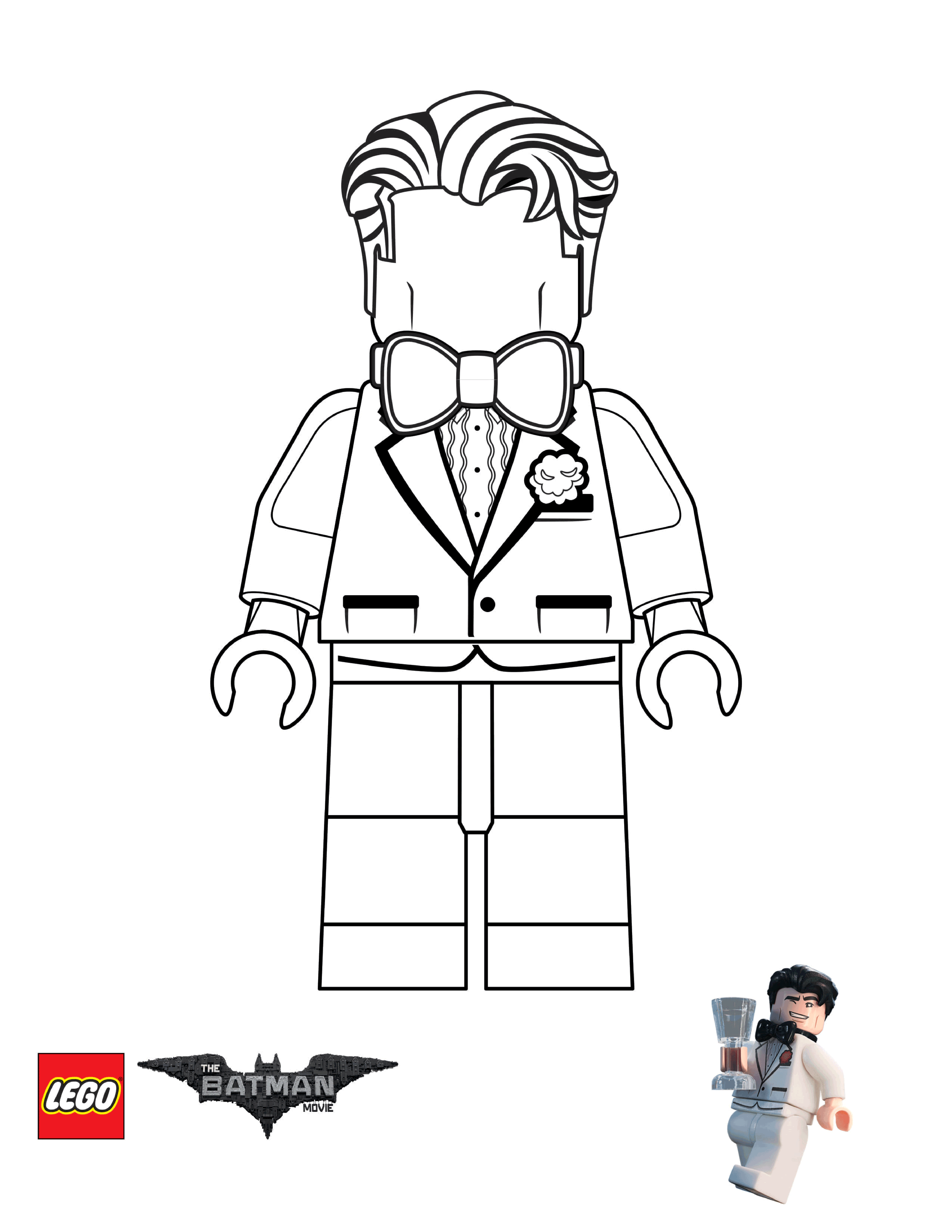 Lego Movie Coloring Pages - Coloring Home | 3438x2657