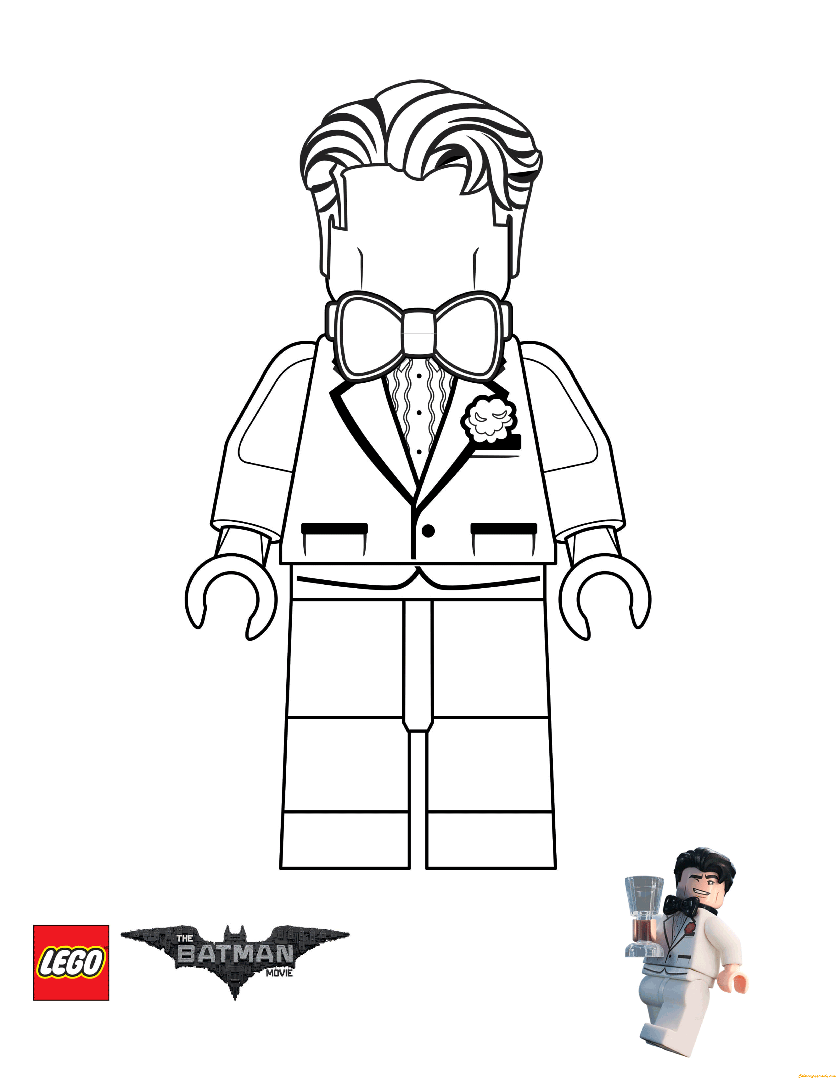 Bruce Wayne from Lego Batman Movie