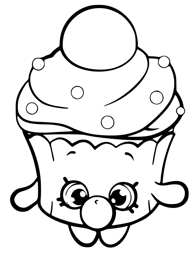 Bubble Cupcake Shopkin Season 6