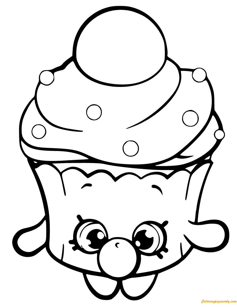 57 Outstanding Free Printable Coloring Pages Shopkins – haramiran | 1024x791