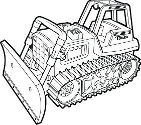 Bulldozer Monster Truck