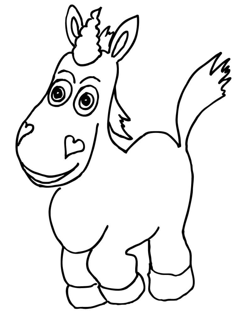 Buttercup1 Coloring Page