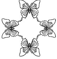 Butterfly Mandala 1