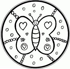 Butterfly Mandala 10